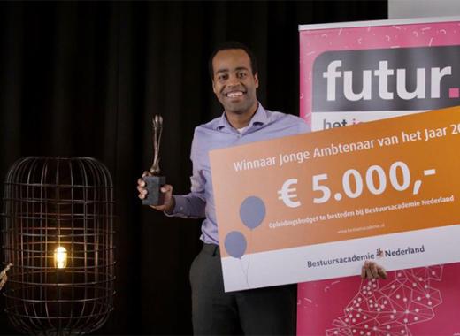 Kaj van Brummelen is Jonge Ambtenaar van 2021