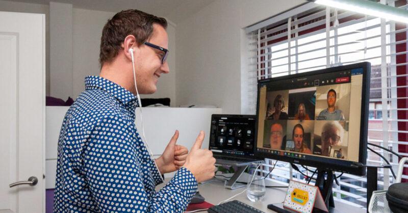 Een robot als virtuele collega