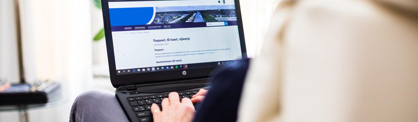 AO Digitale Transformatie laptop