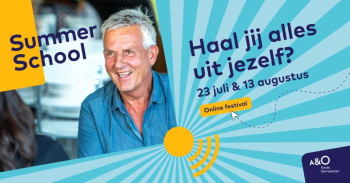 AO Summer School 2020 campagnebeeld Emil facebook 1200 x 628