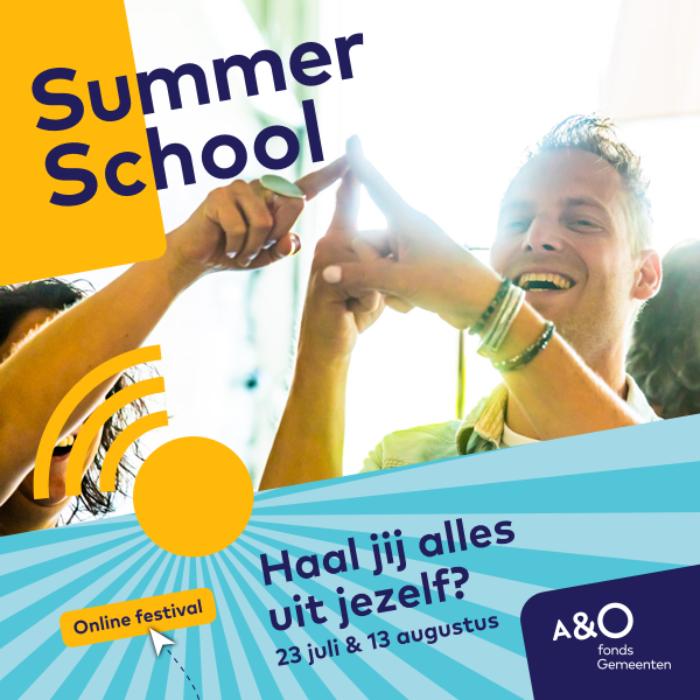 AO Summer School 2020 campagnebeeld Pieken 600 x 600