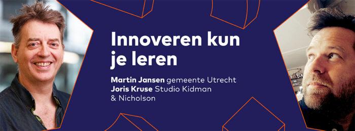 Werken aan innovatie Sprekers Banners Agenda innoveren kunje leren 1080x400