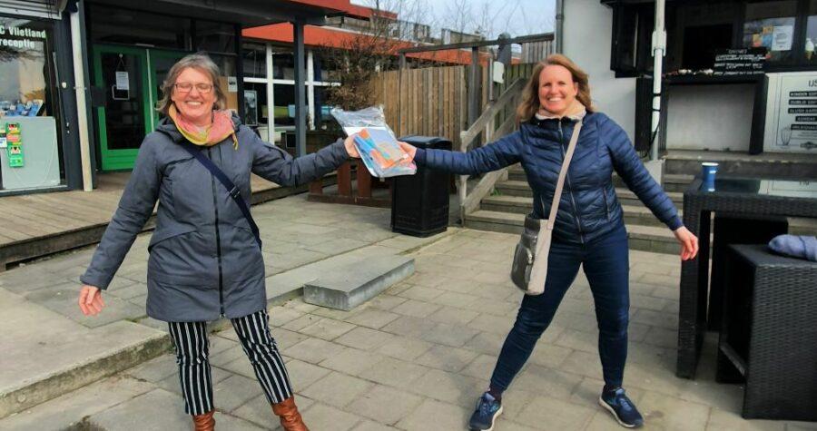 321 project Eva Rodenburg en Eveline Vat