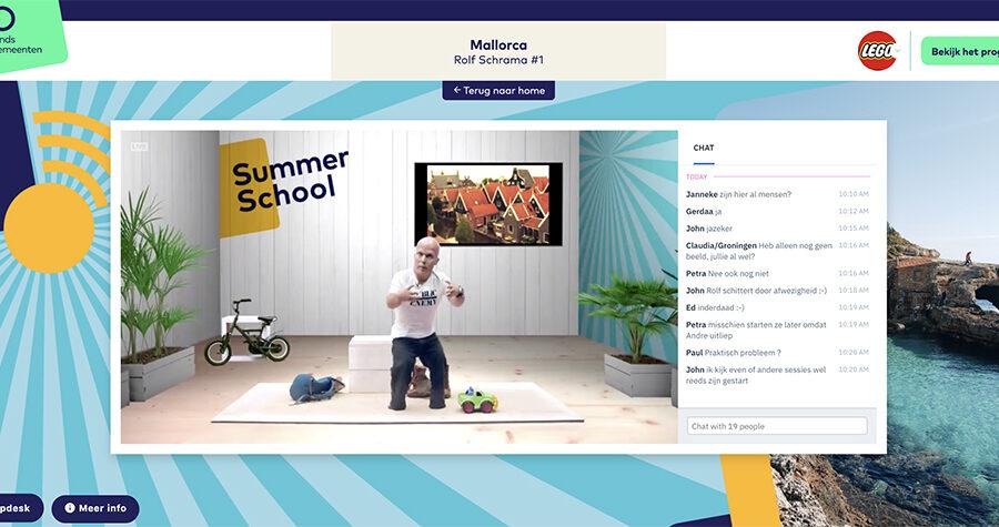 Summerschool 2020 platform Rolf Schrama2